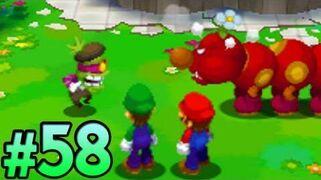 Mario & Luigi- Dream Team - Part 58- Popple & Wiggler