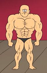 Dale's true physique