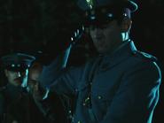 Captain Vidal killing a peasant