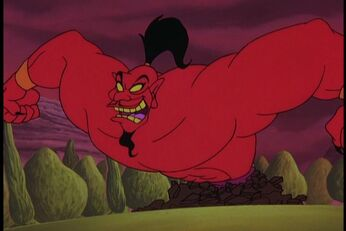 Jafar Genie Animated