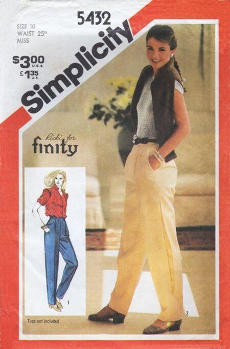 Simplicity 5432 B