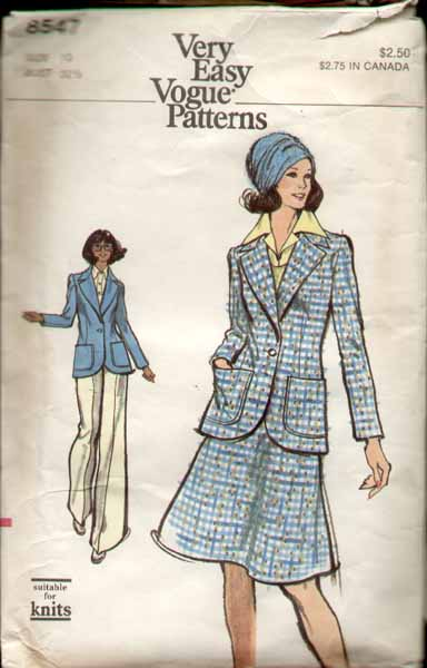 Vogue 8547 a 70's