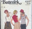 Butterick 4309 A