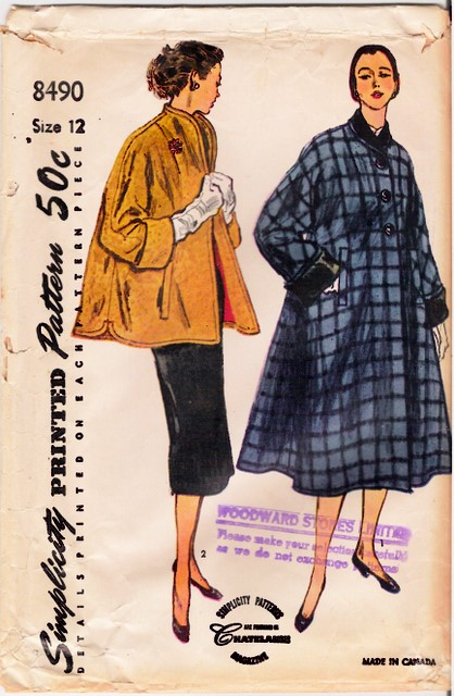 1950's Simplicity 8490 front