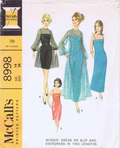 McCalls 1967 8998