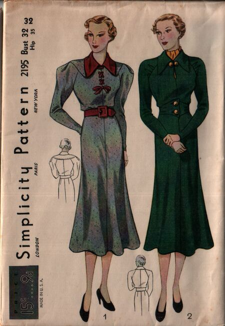 Simplicity 2195 front