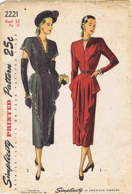 Simplicity 1947 2221