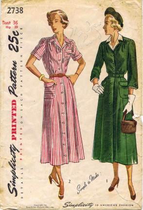 Simplicity 1949 2738