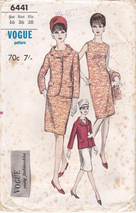 Pattern - Vogue 6441 02