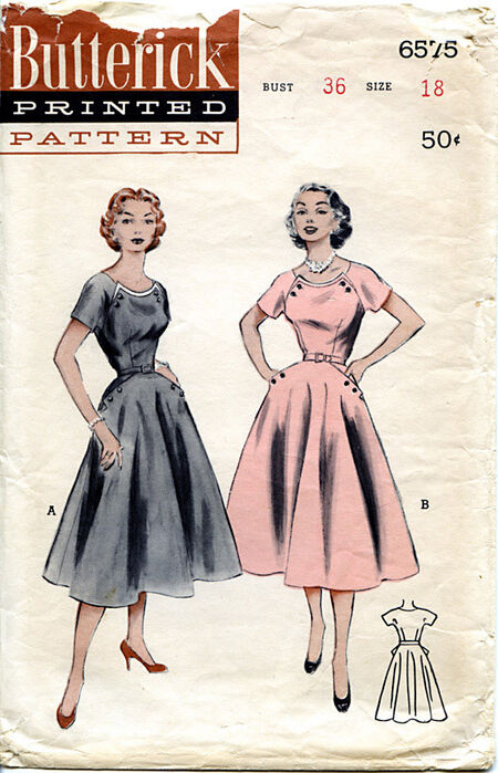 Butterick 6575 front