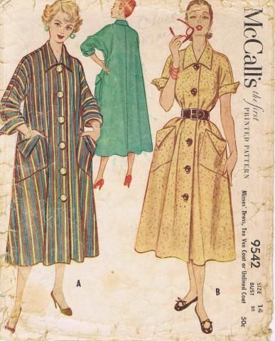 McCalls 1953 9542