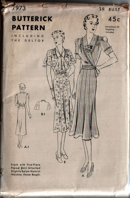 Butterick 7973 front