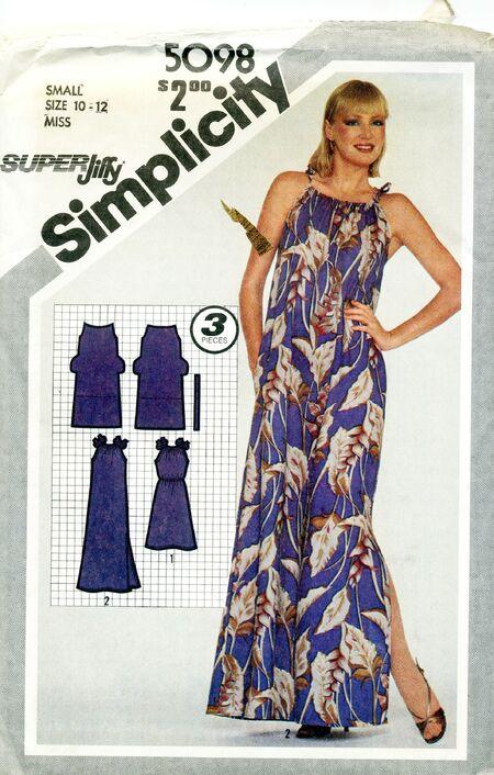 Simplicity 5098 a