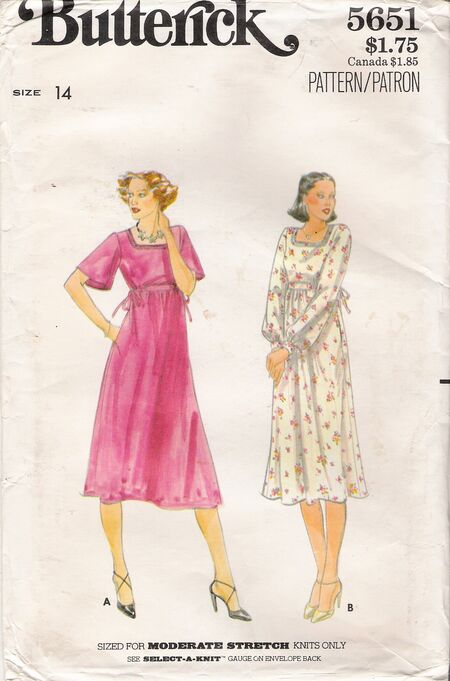 Butterick 5651 image