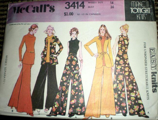 McCall's 3414