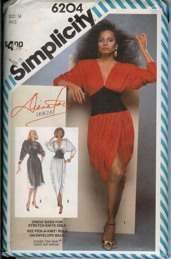 W-6204S-1983 DianaRossDress