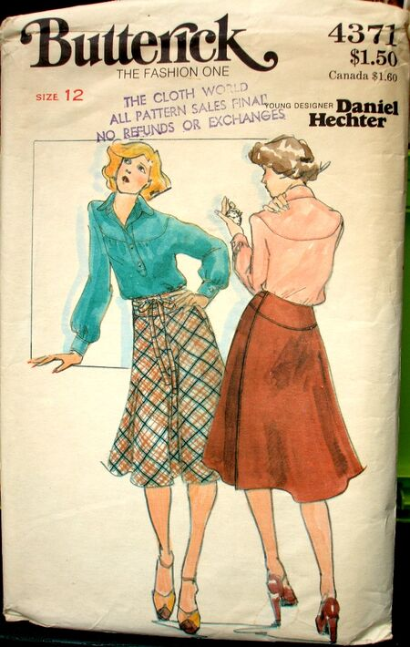 Butterick 4371 A image
