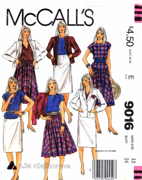 McCalls 1984 9016