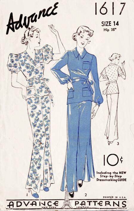 Advance pajama 1617 front