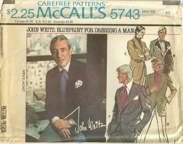 McCalls 5743