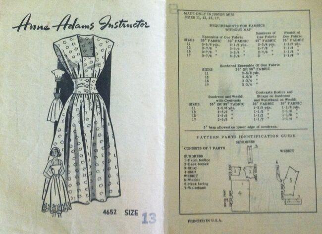 Anne Adams 4652