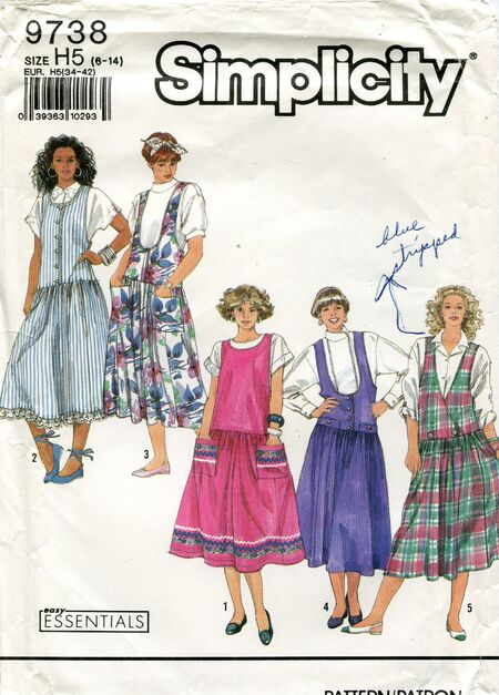 Simplicity9738jumpers