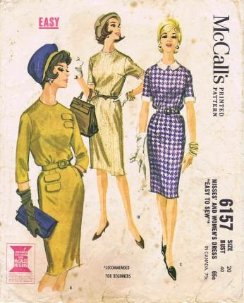 McCalls 1961 6157