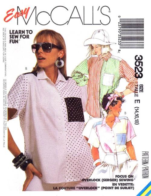 McCalls 1988 3523