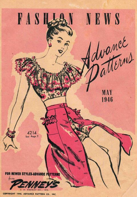 Advance Fashion News May 1946