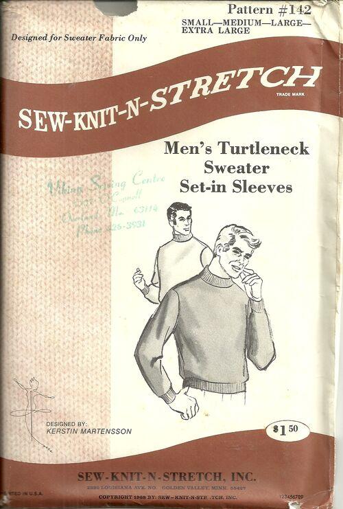 Sew knit stretch 142
