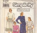 Simplicity 9310 A