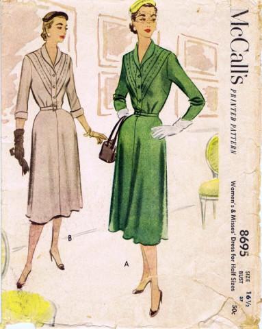 McCalls 1951 8695