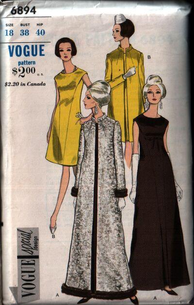 Vogue 6894 front