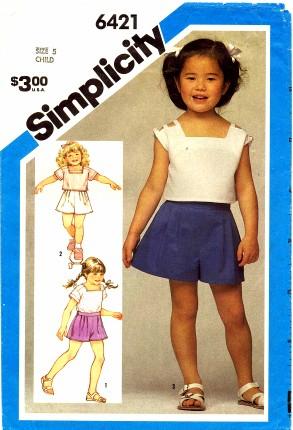 Simplicity 1984 6421