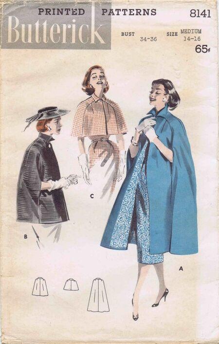 Butterick 1957 8141
