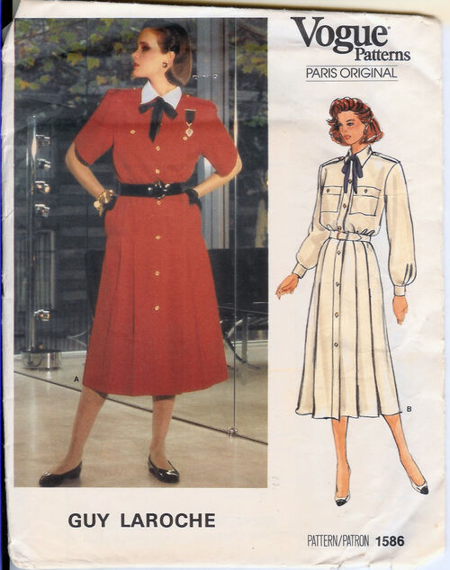 1586V 1985 GLaroche Dress
