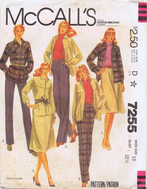 McCalls 1980 7255