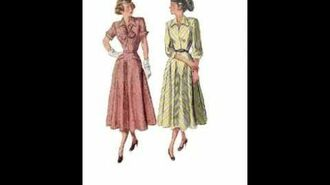 Moments in Style Vintage Sewing Patterns