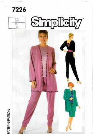 Simplicity 1985 7226