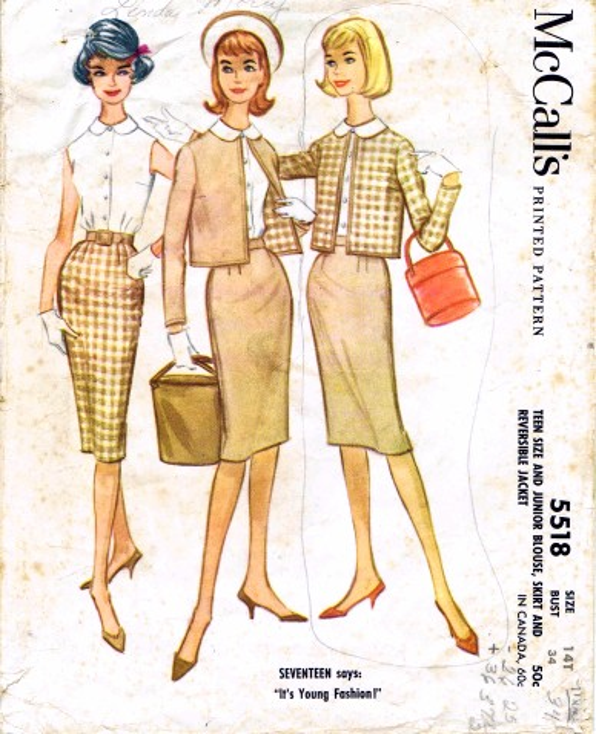 McCalls 1960 5518