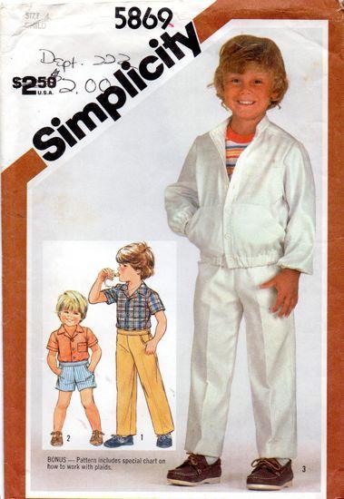 Simplicity 5869