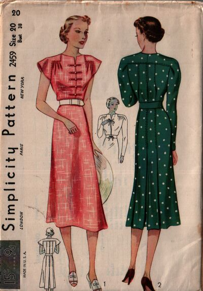 Simplicity 2459 front