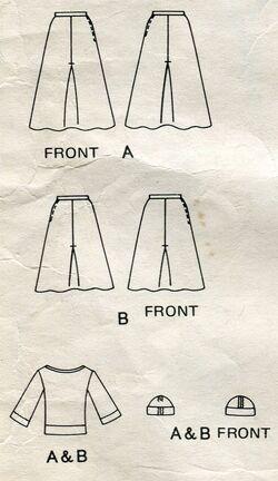 Vogue 1266 pattern sonia rykiel vtg 14 4