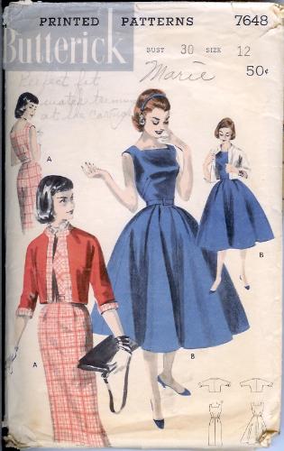 7648B 1960s Dress