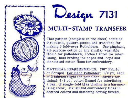 Mail Order Design 1978 7131 F