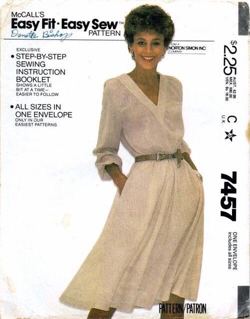 McCalls 1981 7457