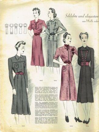 Praktische Damen und Kinder Mode 1938 0006