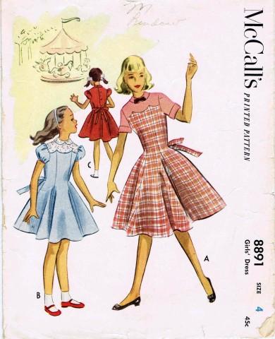 McCalls 1952 8891