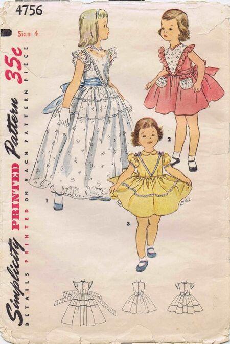Simplicity 1954 4756