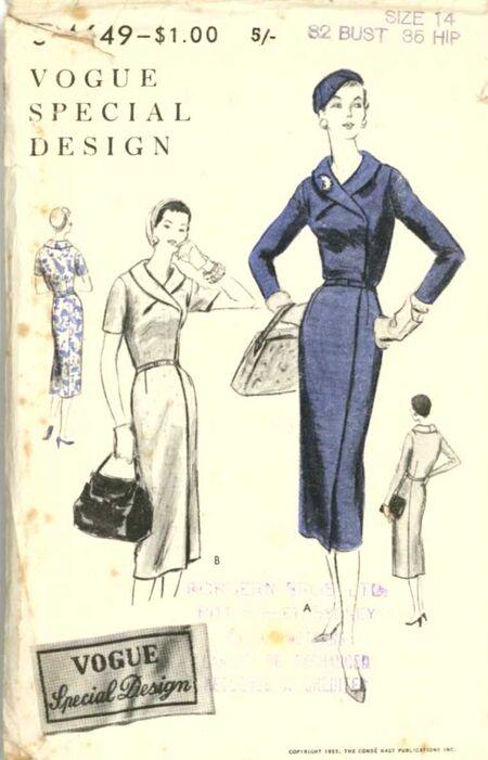 Vogue s4649 dress